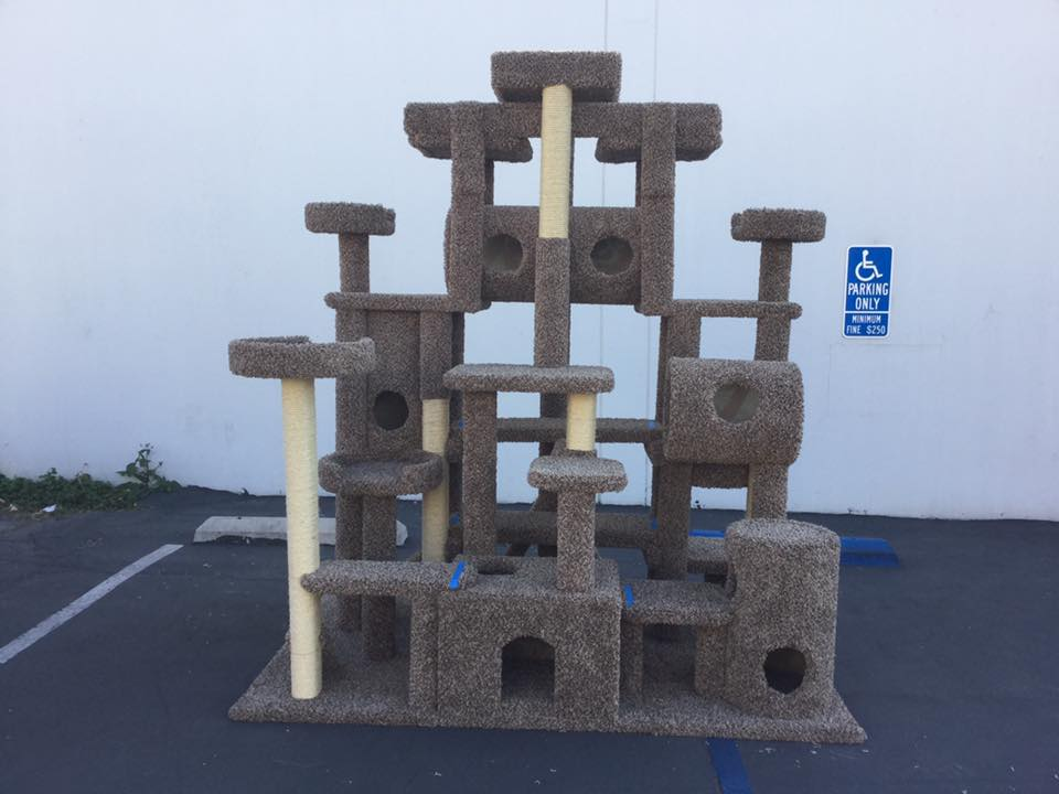 custom cat tree